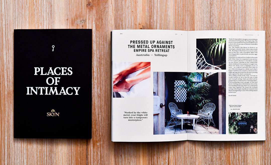 SKYN – PLaces of intimacy